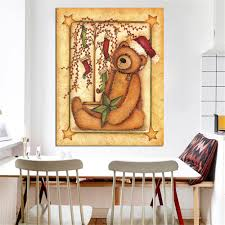bear decorations for home online get cheap simple christmas paintings aliexpress com