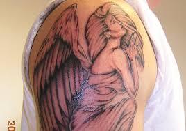 30 pleasant angel tattoos for men creativefan