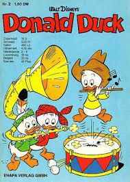 donald duck german cover