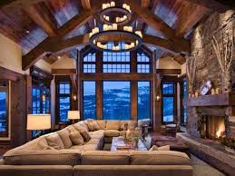 Gorgeous Homes Interior Design Gorgeous Homes In Alpine Chalet Style Country Home Decorating