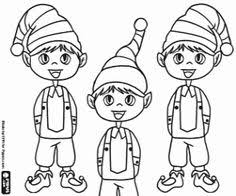 elf on the shelf vintage christmas image print him out and let