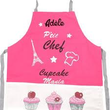 tablier de cuisine enfant personnalisé tablier de cuisine enfant personnalisé cupcake