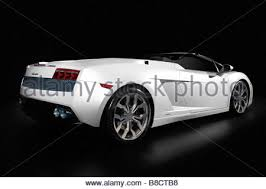 white lamborghini gallardo white lamborghini gallardo lp 560 4 spider stock photo royalty