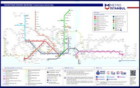 Istanbul Turkey Map Metro Istanbul