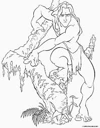 30 coloring pages tarzan images disney