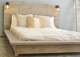 Platform Bed Frames For Sale Floating Wood Platform Bed Frame With Lighted Headboard Quilmes