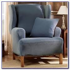 Wing Chair Slipcovers Wing Chair Slipcover Uk Chairs Home Design Ideas Nx9xpvk9zo