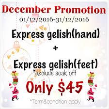 3d nails x christmas nail art u0026 december 2016 promotion jurong