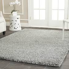White Grey Rug Living Room White Shag Rug With Grey Rug Design And Brown Wooden
