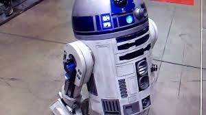 live working animatronic size r2 d2 robot with lights