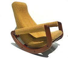 mid century rocking chair ebay
