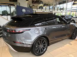 range rover velar black off to give the range rover velar a go jaguar f pace forums