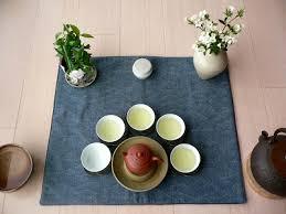 used ceramic pouring table tea masters tea pouring skill