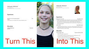 Resume Samples Teenager by How To Make A Resume For Teens Resume Templates