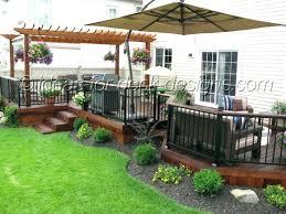 outdoor deck plans photos best backyard decks ideas on and porch