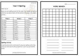 4 weekly spelling pack 2