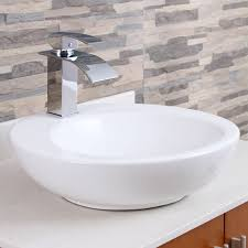 elite modern bathroom sink waterfall faucet chrome finish 8803c