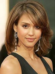 medium hairstyles for round faces and fine hair hairstyle foк