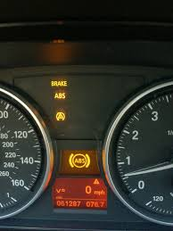 2006 bmw x5 4x4 warning light help yellow dtc and abs lights come on