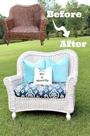 Can You Paint Wicker Chairs How To Spray Paint Wicker Refresh Restyle