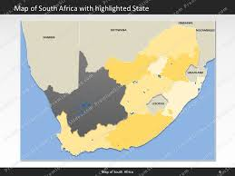 map of south africa south africa map editable map of south africa for powerpoint
