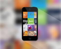 black iphone 5 mockup template psd