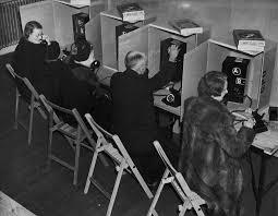telephone bureau telephone bureau flashbak