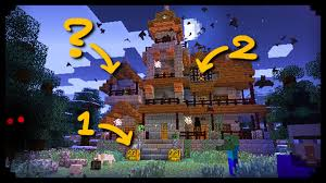 decorations for halloween minecraft 10 ways to spookify your house youtube