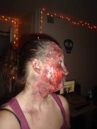 Halloween Makeup Burned Face by Create A Realistic Burn Using Makeup 11 Steps With Pictures