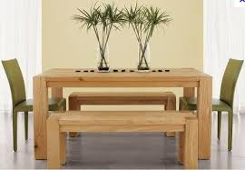 Dining Tables With Bench And Chairs Beautify Your Home With Oak Dining Table And Chairs U2013 Home Decor