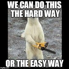 Easy Meme Maker - chainsaw bear meme imgflip