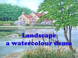 how to paint a landscape in watercolor