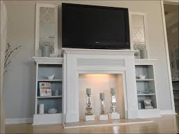 living room wonderful black media fireplace electric white fire