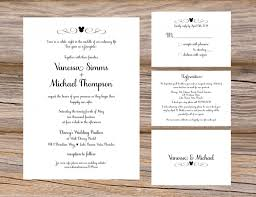 wedding invitations inserts wedding invitation inserts reduxsquad