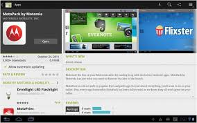 android market app how do i use android market on my droid xyboard 10 1