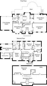 center colonial house plans center colonial floor plans 6 jpeg 265 480 pinteres
