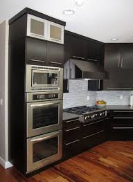 Microwave Kitchen Cabinets Best 25 Black Microwave Ideas Only On Pinterest Stainless