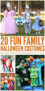 Scooby Doo Halloween Costumes For Family by 20 Fun Family Halloween Costumes Creative Ramblings