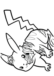 zombie pokemon coloring pages coloring pages pikachu zombie coloring pages a coloring pages