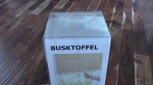 trim width of ikea busktoffel blinds youtube