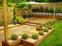 Gardens With Sleepers Ideas Railway Sleepers Garden Design Ideas Pictures Remodel And Decor