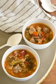 pastina soup recipe recipe chunky italian wedding soup with pasta kitchn
