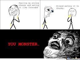 Monster Meme - you monster by frenz rodriguez meme center