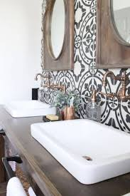 bathroom industrial farmhouse bathroom vanity cottage look