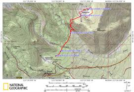 Mt Hood Trail Map Elk Meadows Snowshoe Or Eyehike Your Guide To Hiking