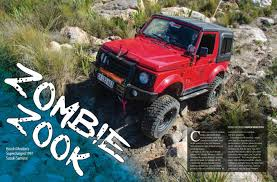 zombie jeep zombie zook ft in sa4x4 oct issue