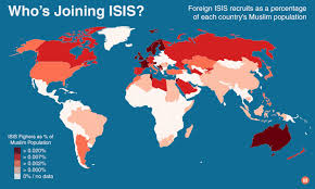 United States Of Islam Map by New Research Shows Isis Recruitment Driven By Cultural Isolation