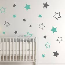 popular child wall decal buy cheap child wall decal lots from baby nursery stars wall sticker star wall decal children room wall sticker kids room easy wall