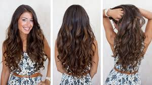 how to curl your hair fast with a wand 7 easy ways to curl hair at home