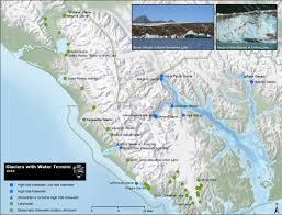 Ice Age Map North America by Glaciers Glacial Features Glacier Bay National Park U0026 Preserve